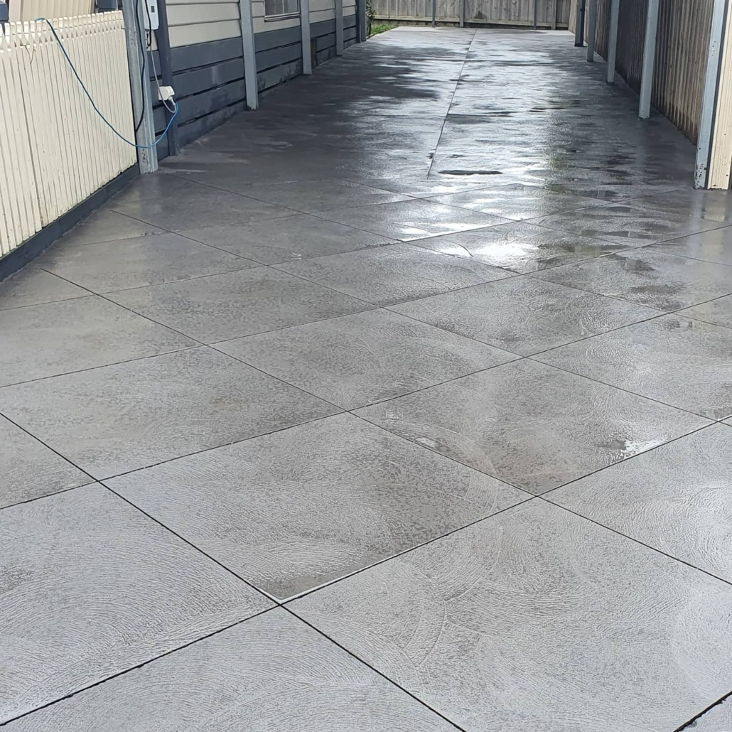 Design cut concrete floor